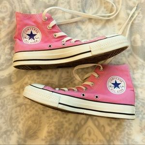 Converse All Star High Top Sneakers Pink Unisex
